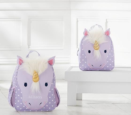 Classic Critter Unicorn Kids Backpacks