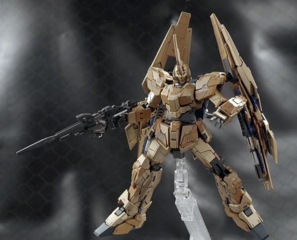 Custom Build  Rg 1 144 Unicorn Gundam 03 Phenex