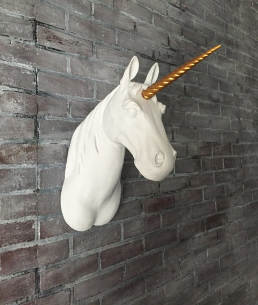 Customize Your Mounted Unicorn Head    Faux Unicorn Head Mount