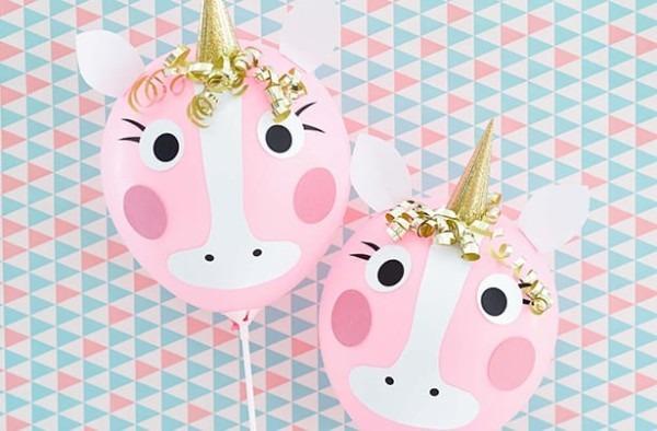 Diy Pink Unicorn Balloons