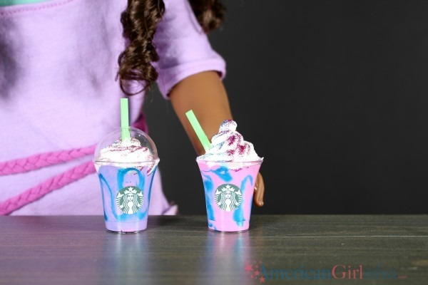 Diy Starbucks Unicorn Frappuccino • American Girl Ideas