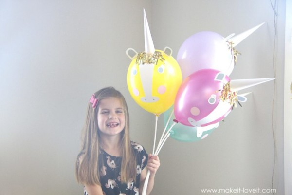 Diy Unicorn Party Balloons – Make It And Love It