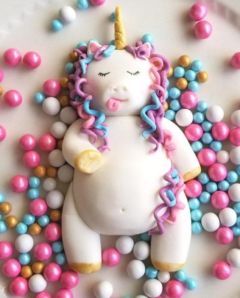 Fat Unicorn Cake Topper In 2019