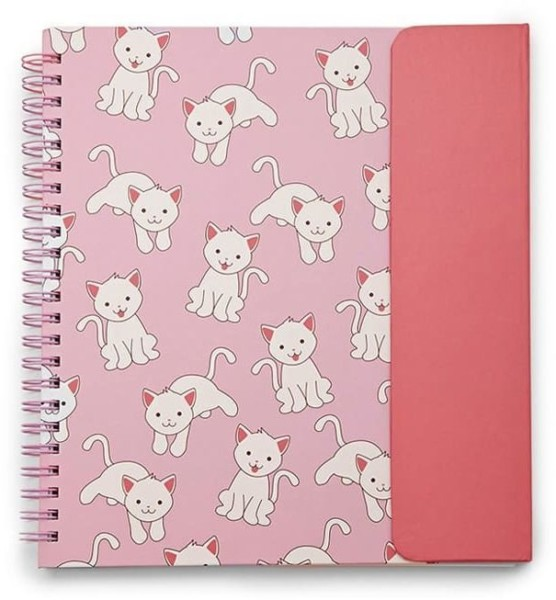 Forever 21 Cat Graphic Spiral Notebook