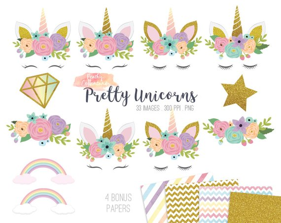 Free Unicorn Clipart 1 » Clipart Station