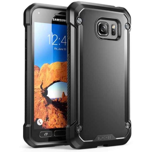 Galaxy S7 Active Unicorn Beetle Hybrid Protective Bumper Case
