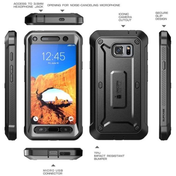 Galaxy S7 Active Unicorn Beetle Pro Holster Case