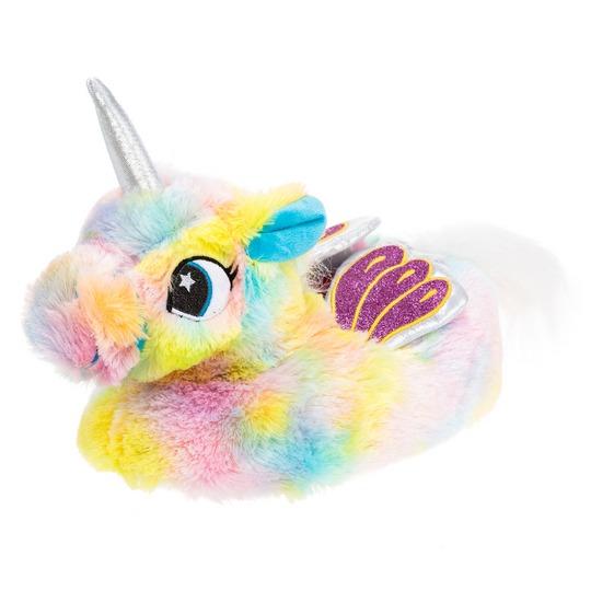 Get It Now Rainbow Unicorn Slipper