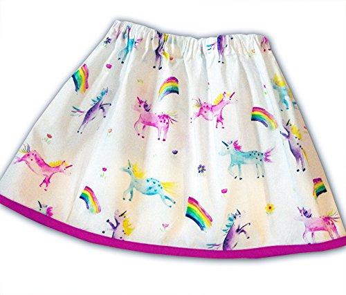 Girls Unicorn And Rainbow Skirt  Amazon Co Uk  Handmade