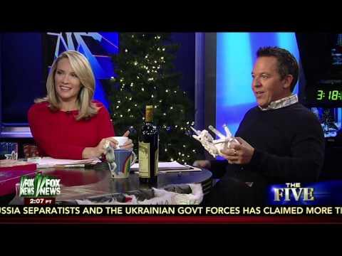 Greg Gutfeld's Unicorn Wine Holder