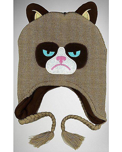 Grumpy Cat Laplander Hat