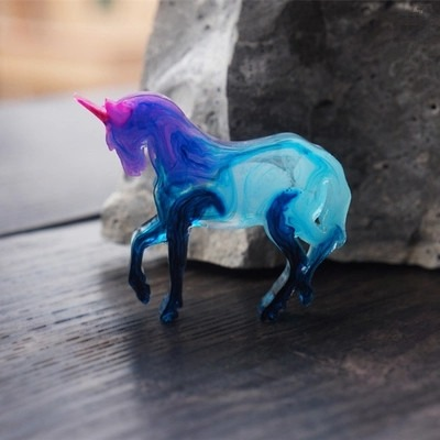 Heartmove Unicorn Silicone Mold Animal Mold Fondant, Cupcake