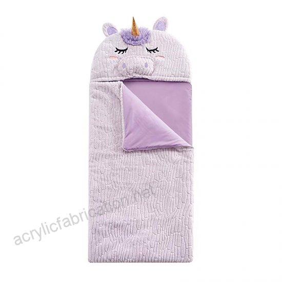 Heritage Kids Unicorn Sleeping Bag, Purple, Pink, 26x60toys
