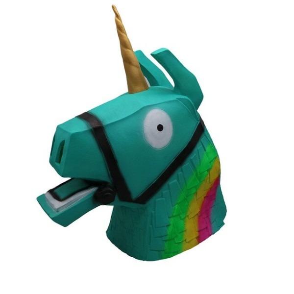 Hot Sale Fortnight Unicorn Llama Halloween Mask Party Cosplay
