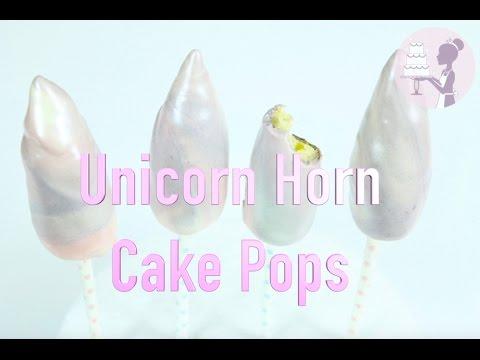 How To Make Unicorn Horn Cake Pops