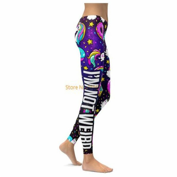 I'm Not Weird,i'm A Unicorn Leggings 3d Print 2017 New Women Pants