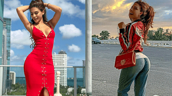 Instagram  Stephanie Valenzuela Wore Unicorn Clothing And Hot Pose