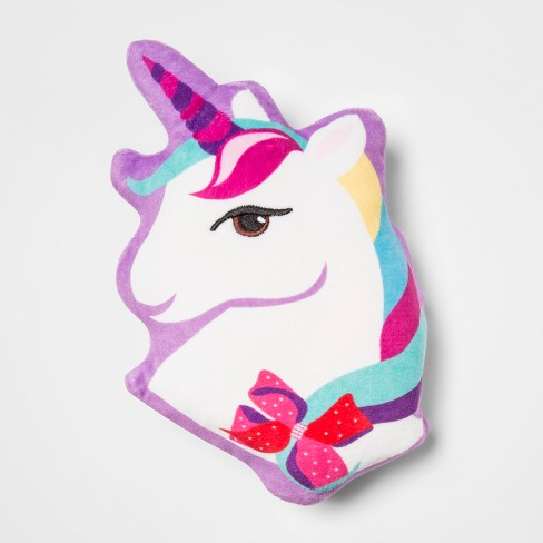 Jojo Siwa Unicorn Squishy Throw Pillow   Target