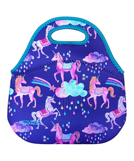 Koverz Purple Unicorn Lunch Bag