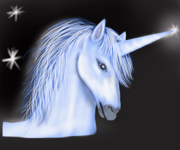Learn How To Draw Unicorn Head (unicorns) Step By Step   Drawing