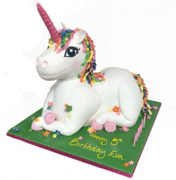 Life Size Unicorn Birthday Cake