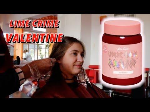 Lime Crime Valentine Unicorn Hair Dip Dye