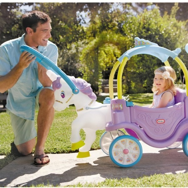 Little Tikes Magical Unicorn Carriage Ride On For $119 99 (reg