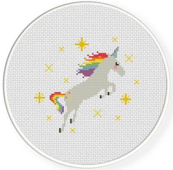 Lovely Unicorn Cross Stitch Pattern – Daily Cross Stitch