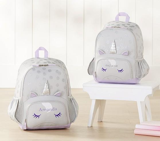 Mackenzie Critter Unicorn Kids Backpack