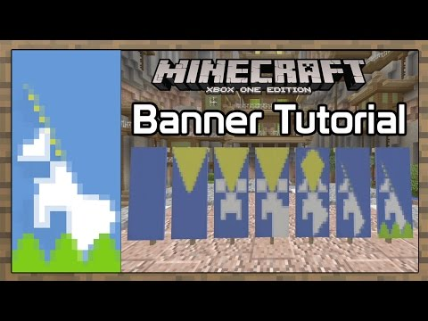 Minecraft Console Edition   Unicorn  Banner Tutorial [9]