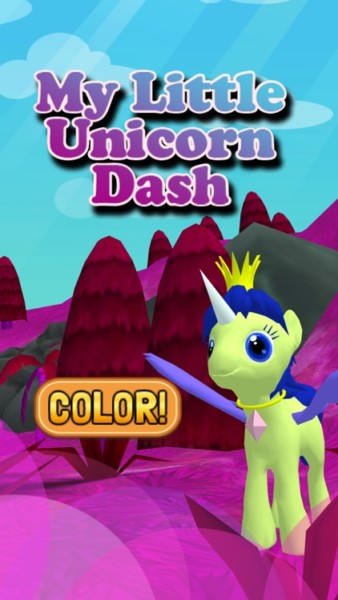 My Little Unicorn Dash 3d Hd By Iurii Nikshych