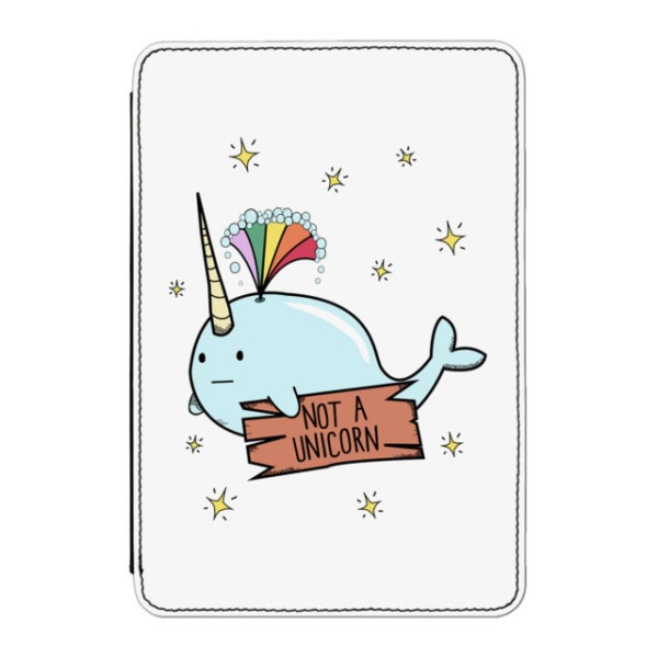 Narwhal Not A Unicorn Case Cover For Kindle Paperwhite