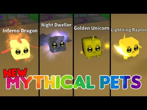New  Mythical Pets!