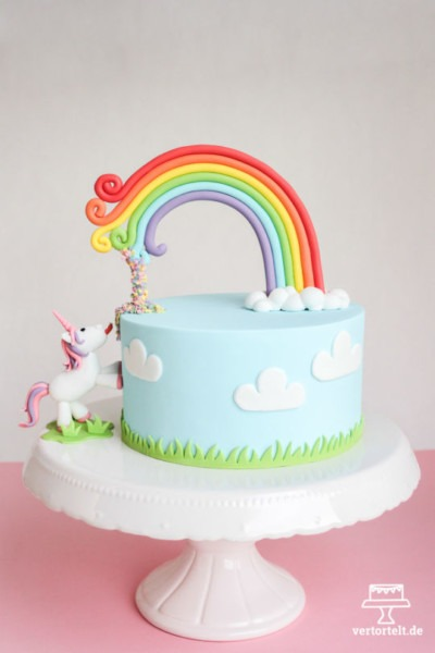 Not A Usual Unicorn Cake