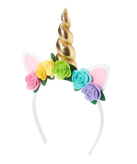 Picki Nicki Hair Bowtique Rainbow Unicorn Headband