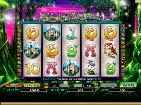 Play Unicorn Legend Video Slot Free At Videoslots Com