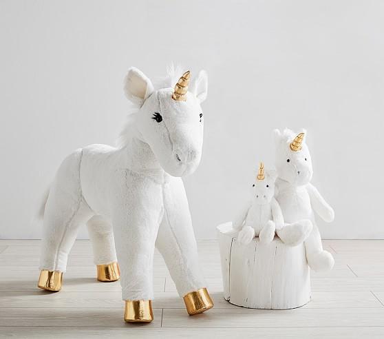 Plush Unicorn Faux Fur Collection
