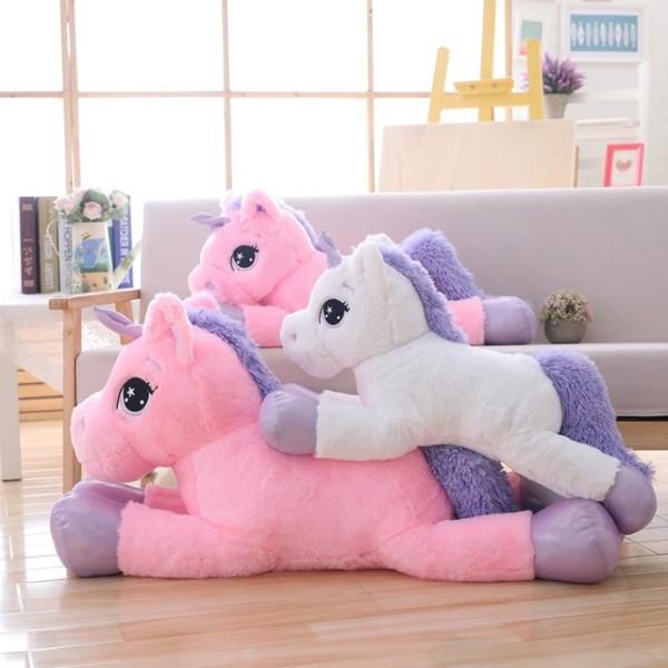 Plush Unicorn Giant Stuffed Animal Soft Doll Big Size Unicorn