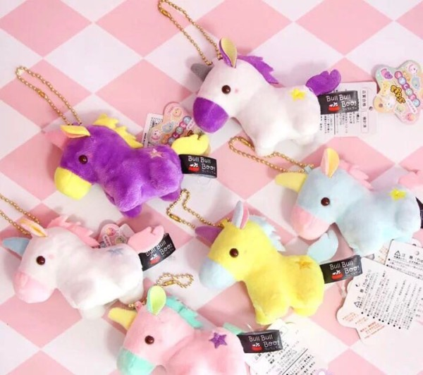 Preorder Unicorn Plush Yumekawa Soft Toy Keychain, Toys & Games