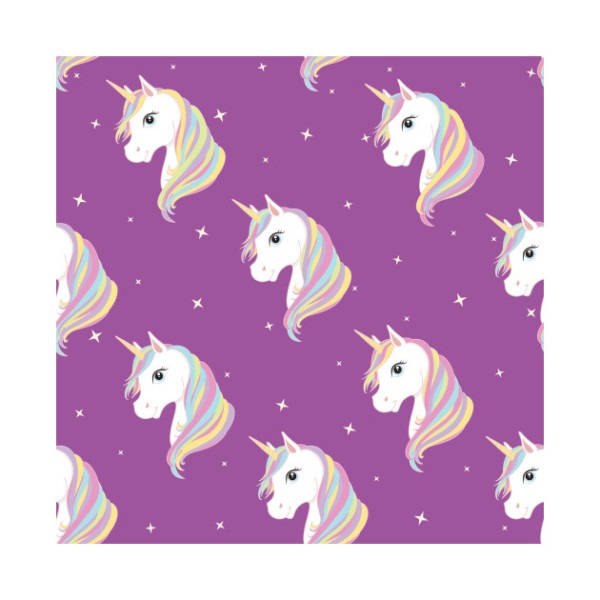 Purple Unicorn Print