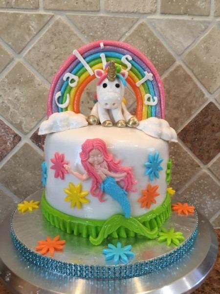 Rainbow Unicorn Mermaid