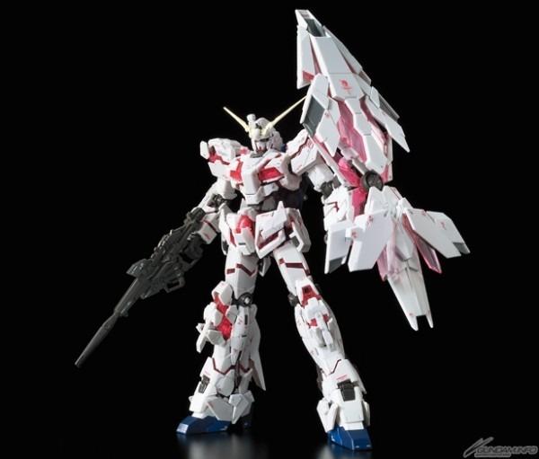 Rg  Unicorn Gundam (bandeshine)  &  Unicorn Gundam Unit 2 Banshi