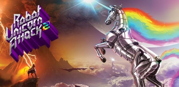 Robot Unicorn Attack 2 Now Available In The Play Store