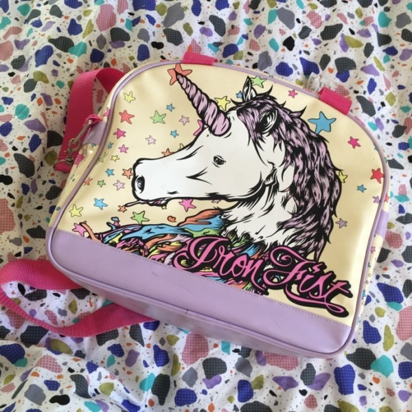 🧡sale🧡 Iron Fist Unicorn Bag, Can Be Held Like A