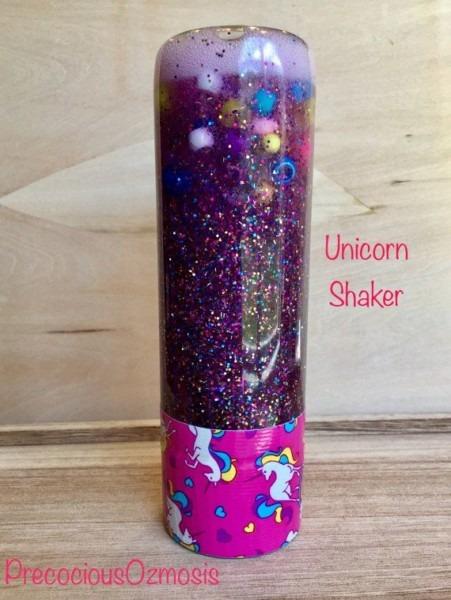 Sensory Bottle Calm Down Bottle Unicorn By Precociousozmosis