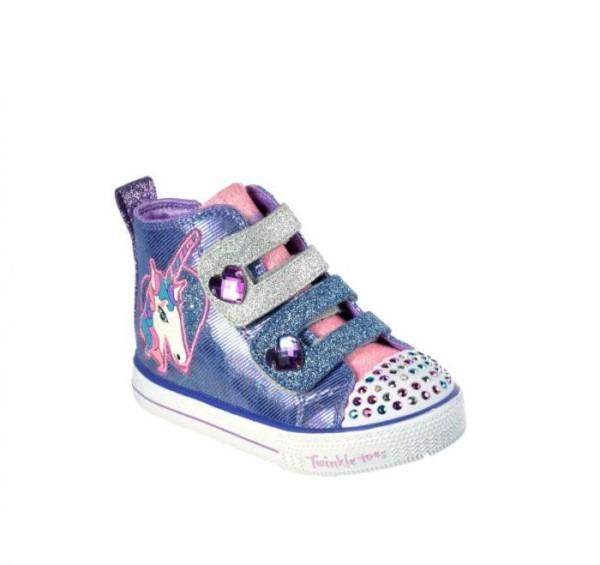 Shop Skechers Infant Girls' Twinkle Toes  Shuffle Lite