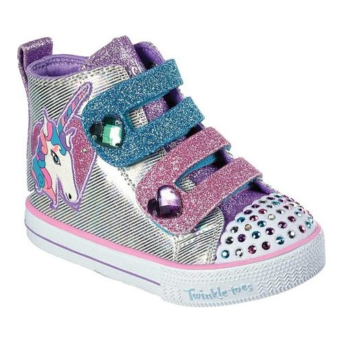 Skechers Twinkle Toes Shuffle Lite Unicorn Love Sneaker In 2019