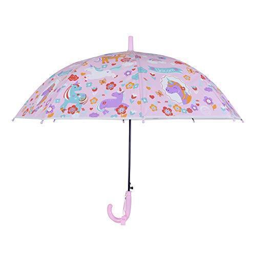 Smartcraft Light Pink Magical Unicorn Theme Kids Umbrella, Rs 209