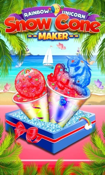 Snowcone Maker  Yummy Shaved Ice Unicorn Snow Cone For Android