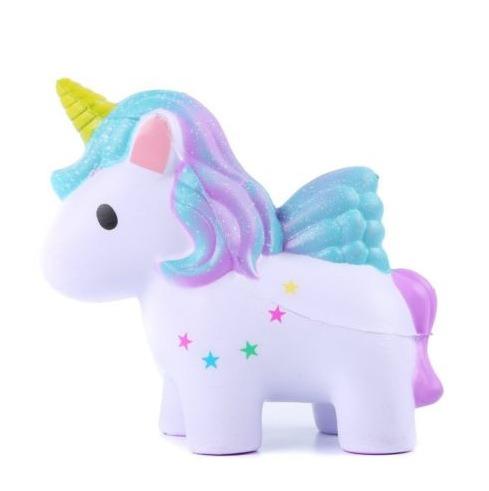 Soft Slow Rising Squishy Kids Cute Lovely Jumbo Big Rainbow Galaxy